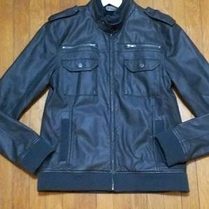 Men's Charles and a Half Creepster Leather Jacket